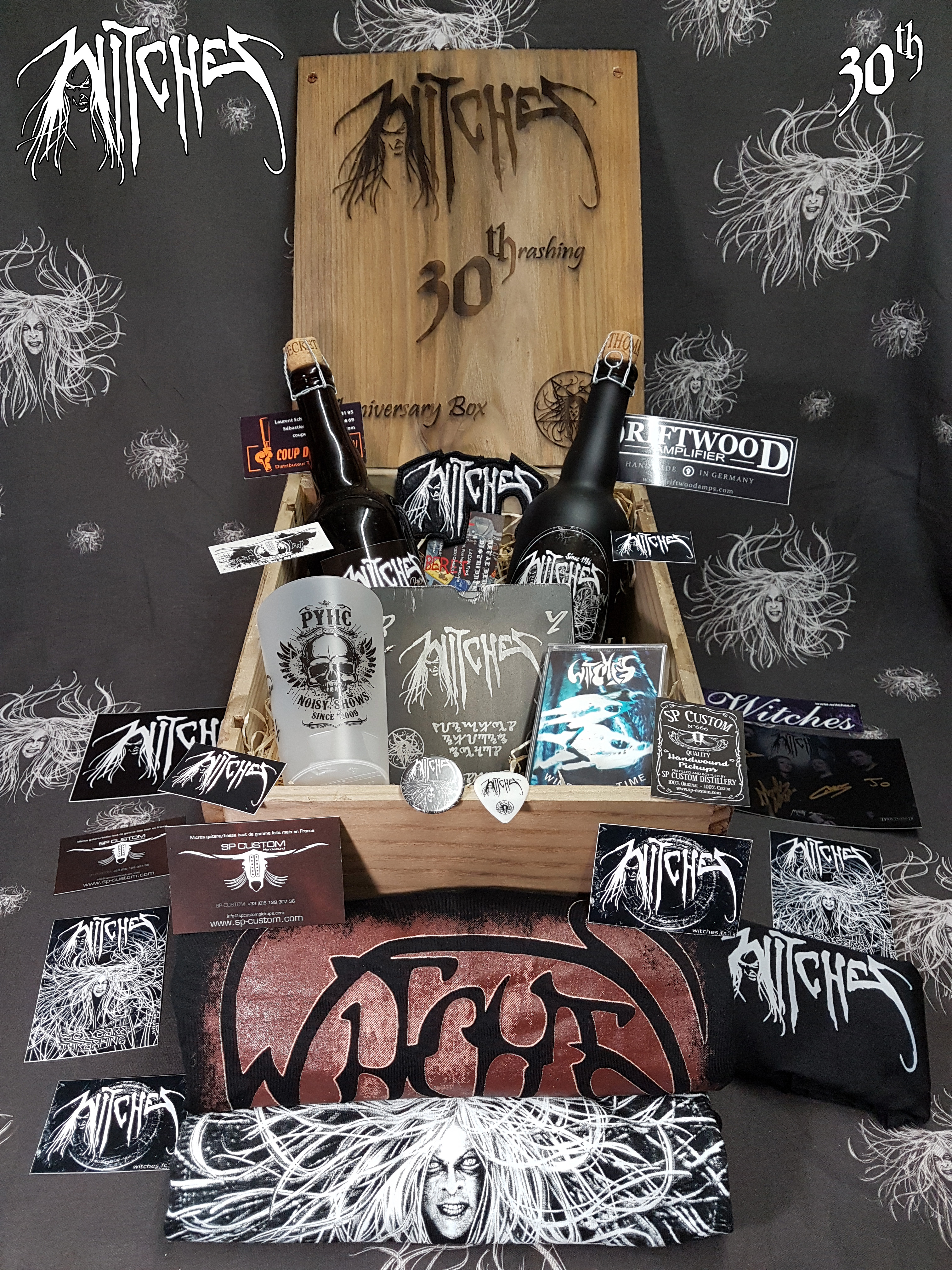 Witches 30th Anniversary Metal Box