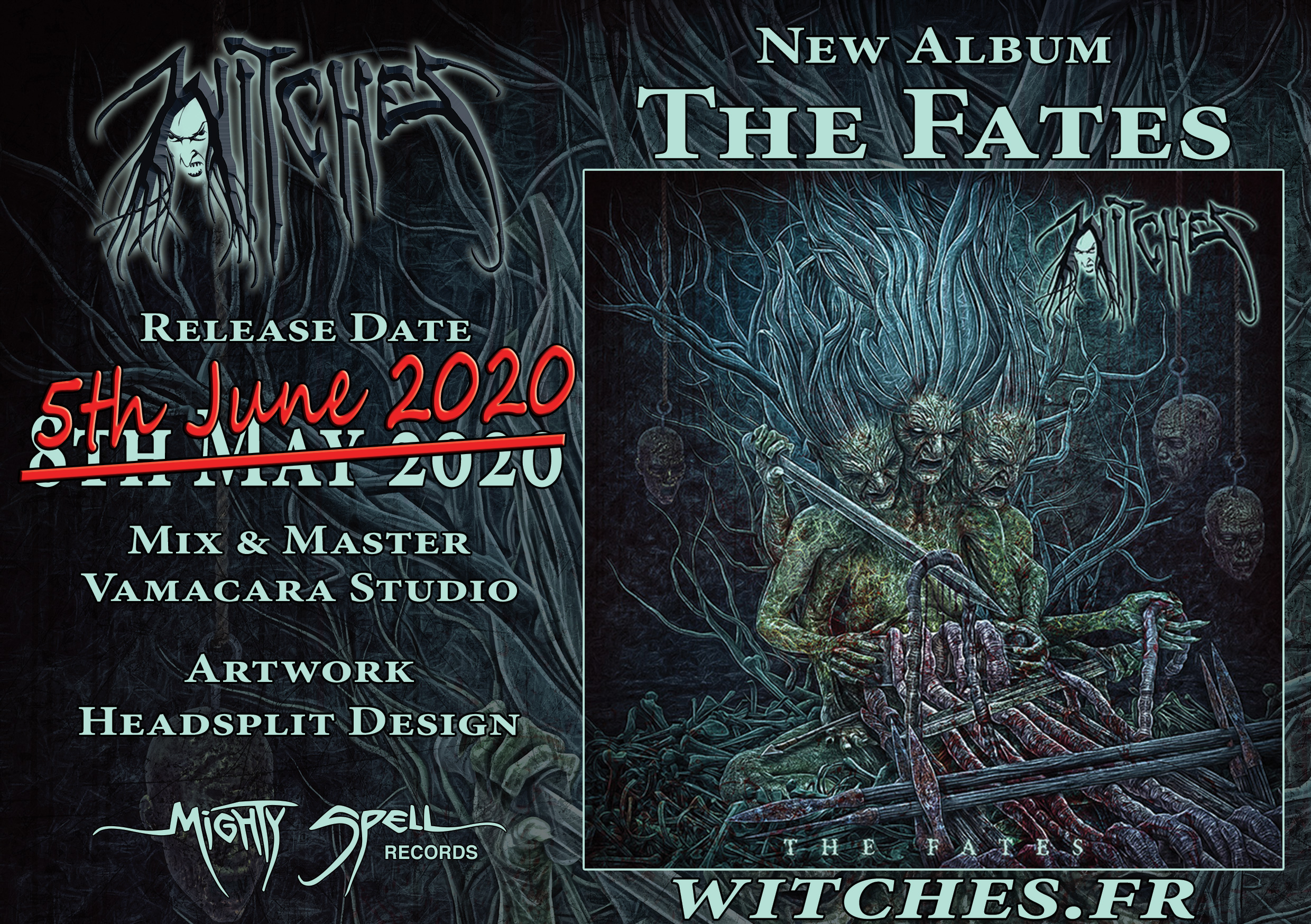 Witches The Fates New Album