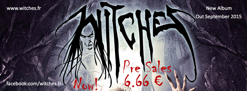 Thrash Metal Witches Music band CD Presales