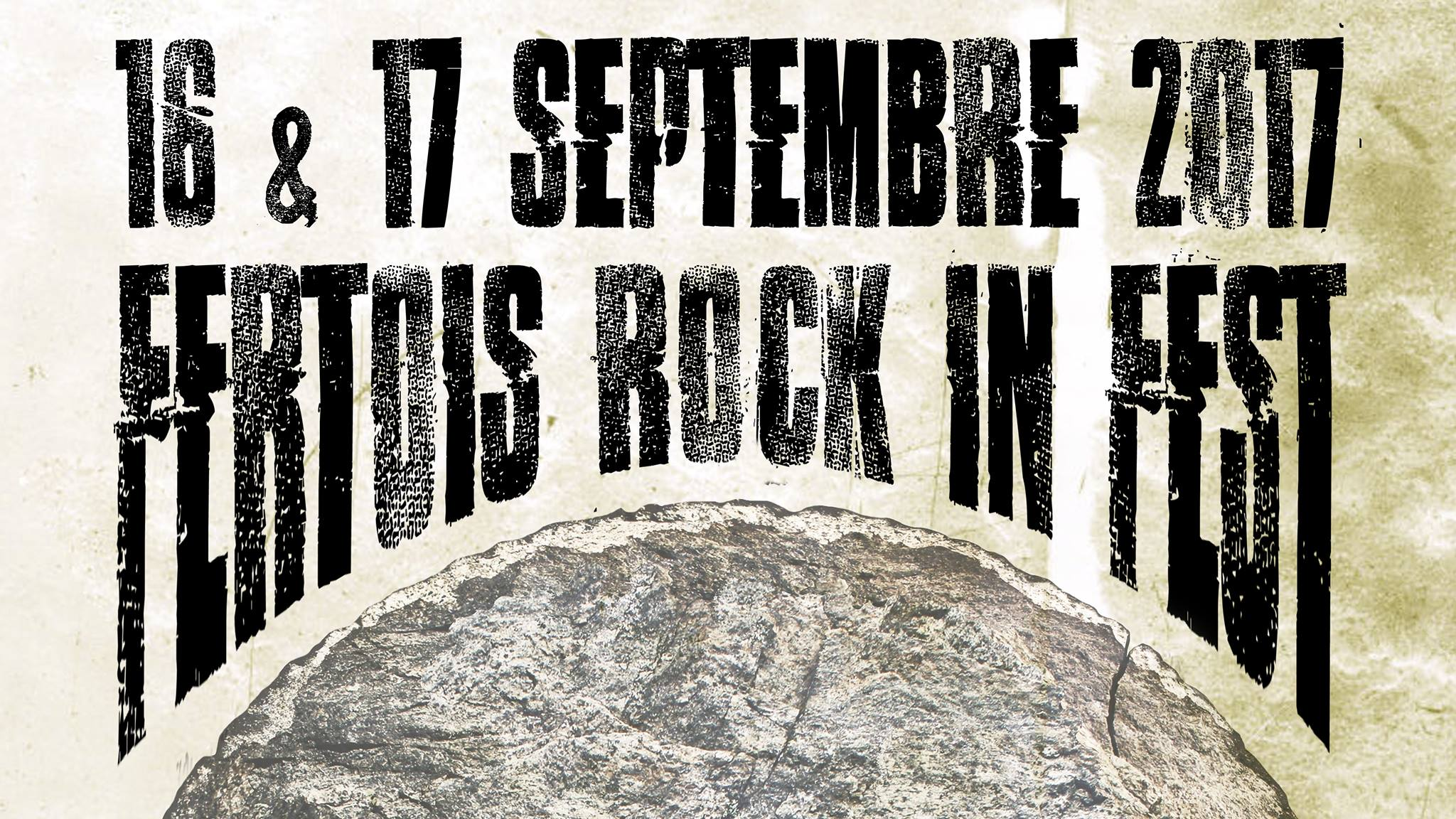 Witches flyer Misanthrope + Witches + Pleasure to Kill + ... @ Fertois Rock In Fest  La Fert� Sous Jouarre (77)