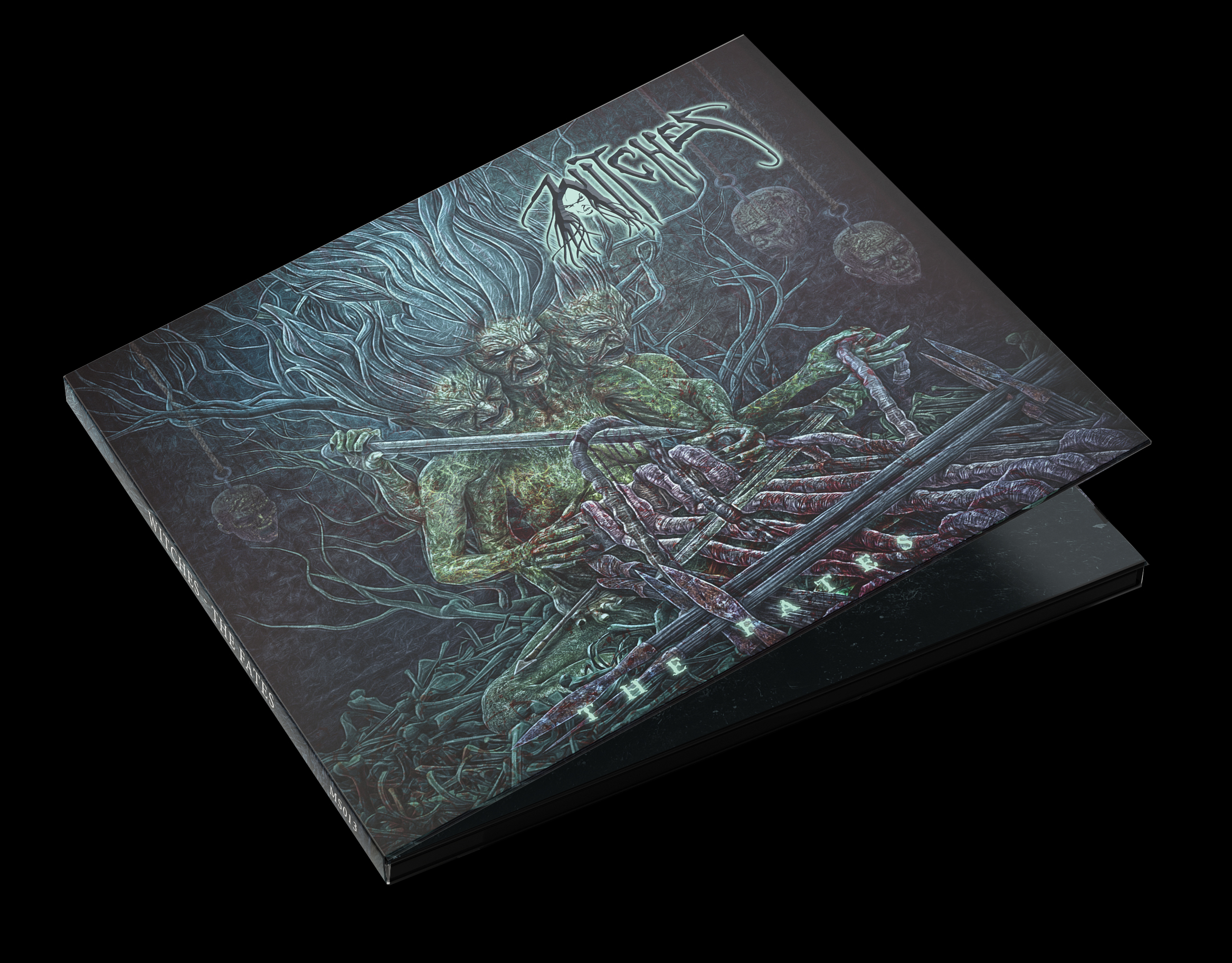 Witches The Fates CD Digipack