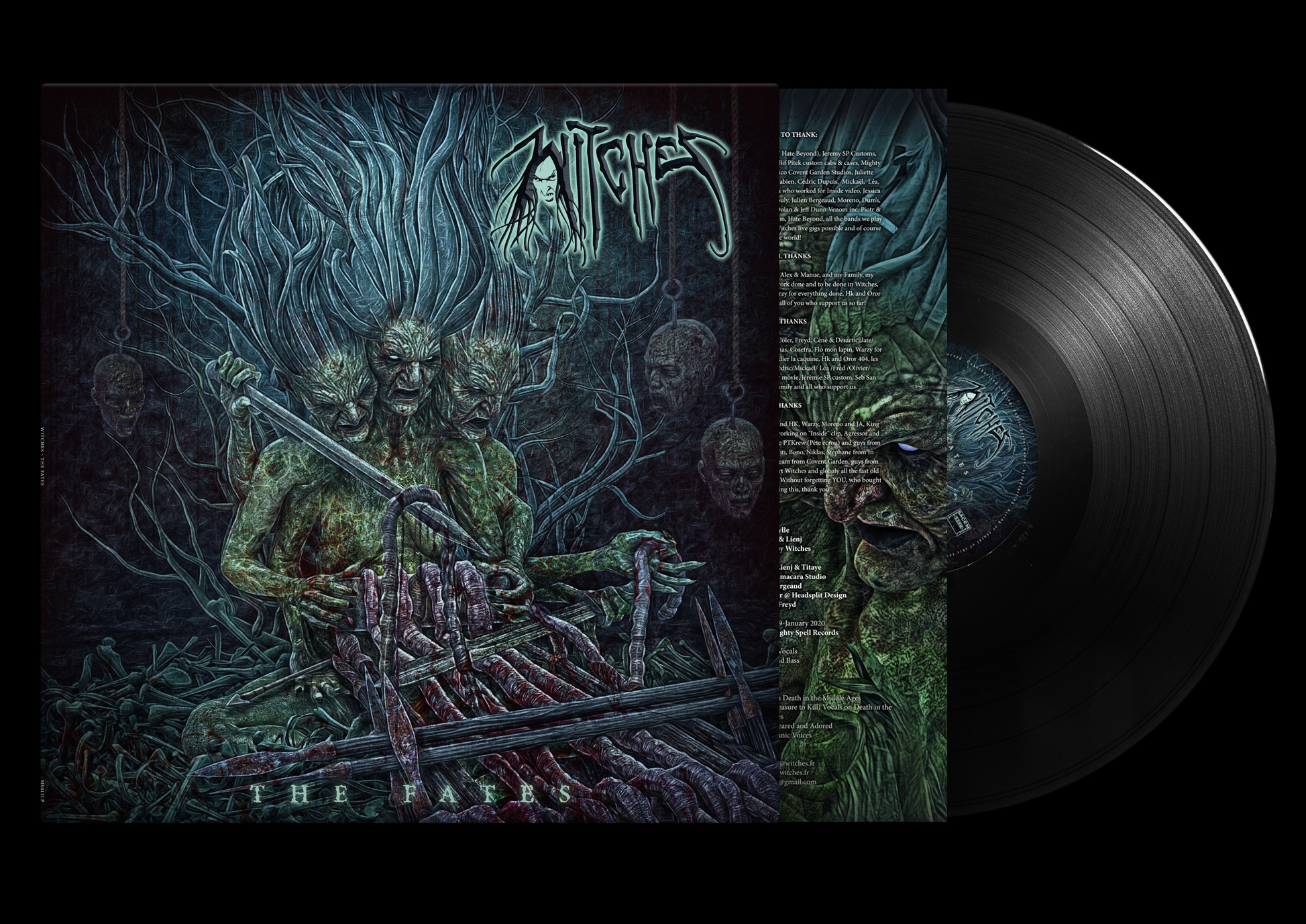 Witches The Fates Vinyl