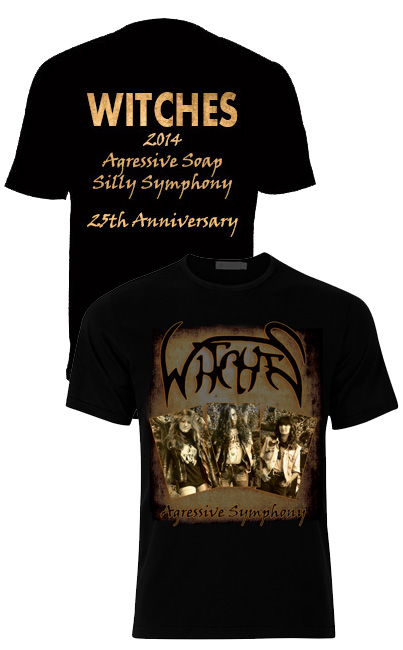 Witches  T.Shirt Agressive Symphony